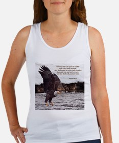 ISAIAH 40:31 WINGED EAGLES Tank Top