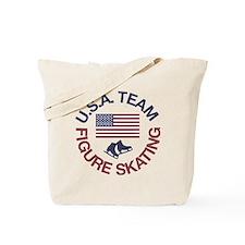 U.S.A. Team Figure Skating Tote Bag