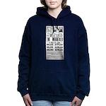 Wanted John Wilkes Booth Hooded Sweatshirt