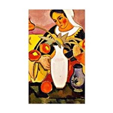 August Macke - Woman Playing t Decal