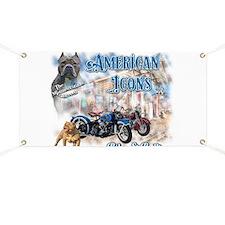 American Icons Bikes Bullies Banner