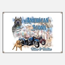 American Icons Bikes Bullies Banner