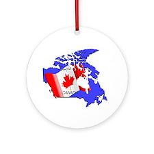 R O Canada Ornament (Round) Ornament (Round)