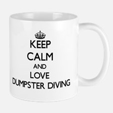 Keep calm and love Dumpster Diving Mugs