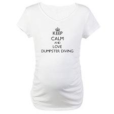 Keep calm and love Dumpster Diving Shirt
