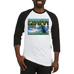 Sailboats & Black Lab Baseball Jersey