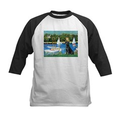 Sailboats & Black Lab Tee