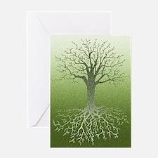 Meditative Solstice Card Greeting Cards