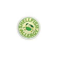 SHELLFISH ALLERGY Mini Button (100 pack)