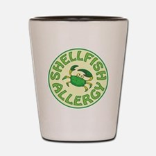 SHELLFISH ALLERGY Shot Glass