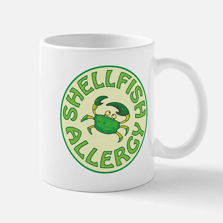 SHELLFISH ALLERGY Mugs