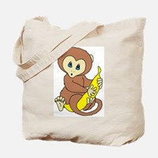 Little Brown Monkey! Tote Bag