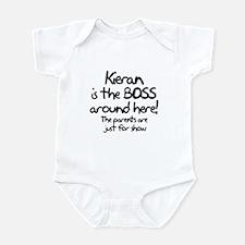 Kieran is the Boss Infant Bodysuit