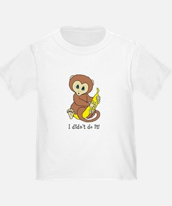 I didnt do it! Monkey T-Shirt
