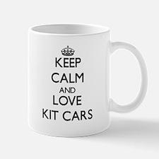 Keep calm and love Kit Cars Mugs