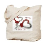 Boy Toy Valentine Heartcuffs Tote Bag
