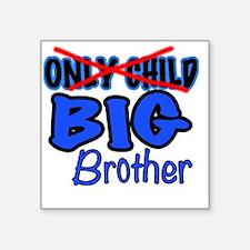 """New Big Brother Announcemen Square Sticker 3"""" x 3"""""""