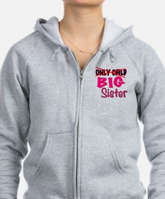 New Big Sister Announcement Zip Hoodie