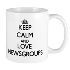 Keep calm and love Newsgroups Mugs