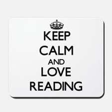 Keep calm and love Reading Mousepad