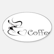 i love coffee mug Bumper Stickers