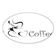 i love coffee mug Decal