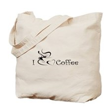 i love coffee mug Tote Bag