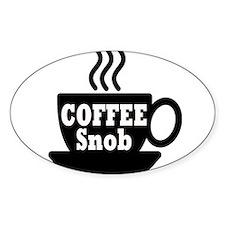 coffee snob Decal