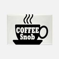 coffee snob Magnets