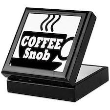 coffee snob Keepsake Box