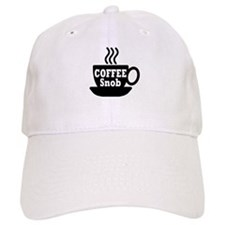 coffee snob Baseball Cap
