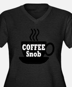 coffee snob Plus Size T-Shirt