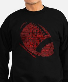 Football Words Sweatshirt (dark)