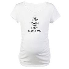 Keep calm and love Biathlon Shirt