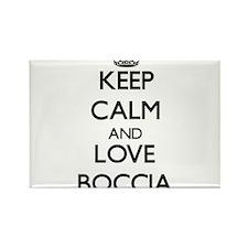 Keep calm and love Boccia Magnets