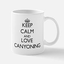 Keep calm and love Canyoning Mugs