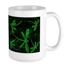 Dragonfly Flit Electric Green Mug