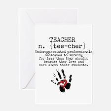 Teacher. Greeting Cards