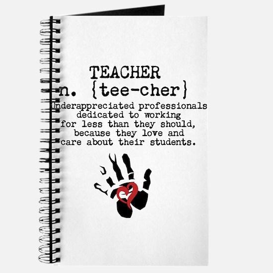 Teacher. Journal