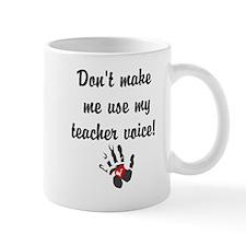 Teacher voice Mugs