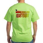 Soul Winner Back/Front Green T-Shirt