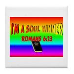 Soul Winner Tile Coaster