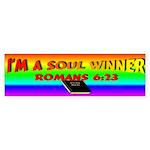 Soul Winner Bumper Bumper Sticker