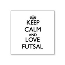 Keep calm and love Futsal Sticker