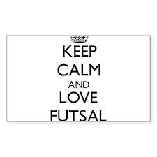 Keep calm and love Futsal Stickers