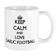 Keep calm and love Gaelic Football Mugs