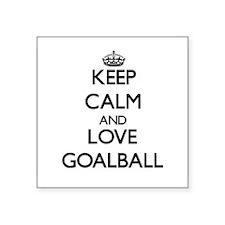 Keep calm and love Goalball Sticker