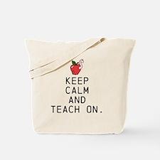 Teach on. Tote Bag