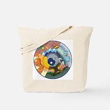 Healing Circle - white Tote Bag