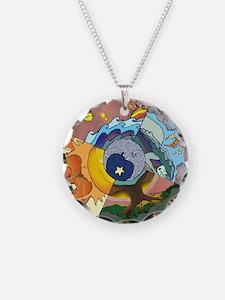 Healing Circle - white Necklace
